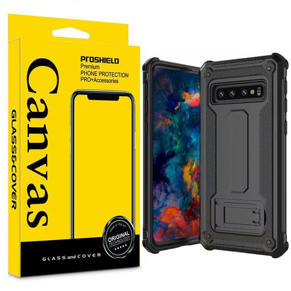 کاور کانواس مدل DEFEN-02 مناسب برای گوشی موبایل سامسونگ Galaxy S10