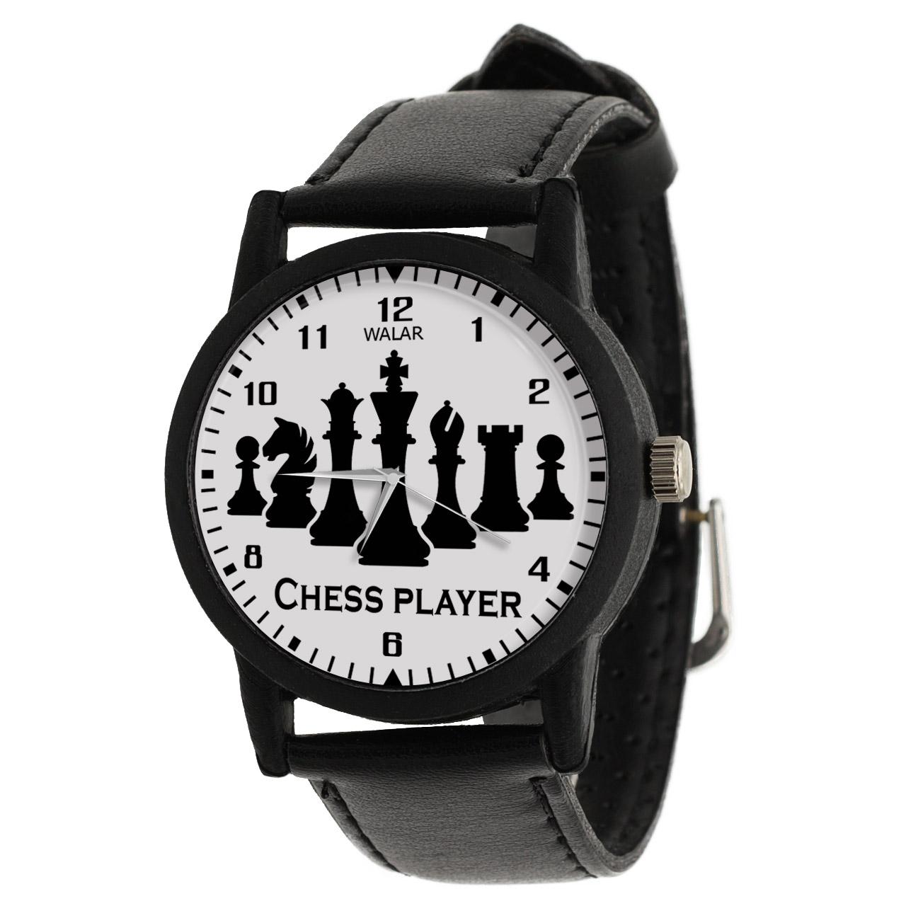 کد تخفیف                                      ساعت مچی عقربه ای والار طرح شطرنج کد LF2769