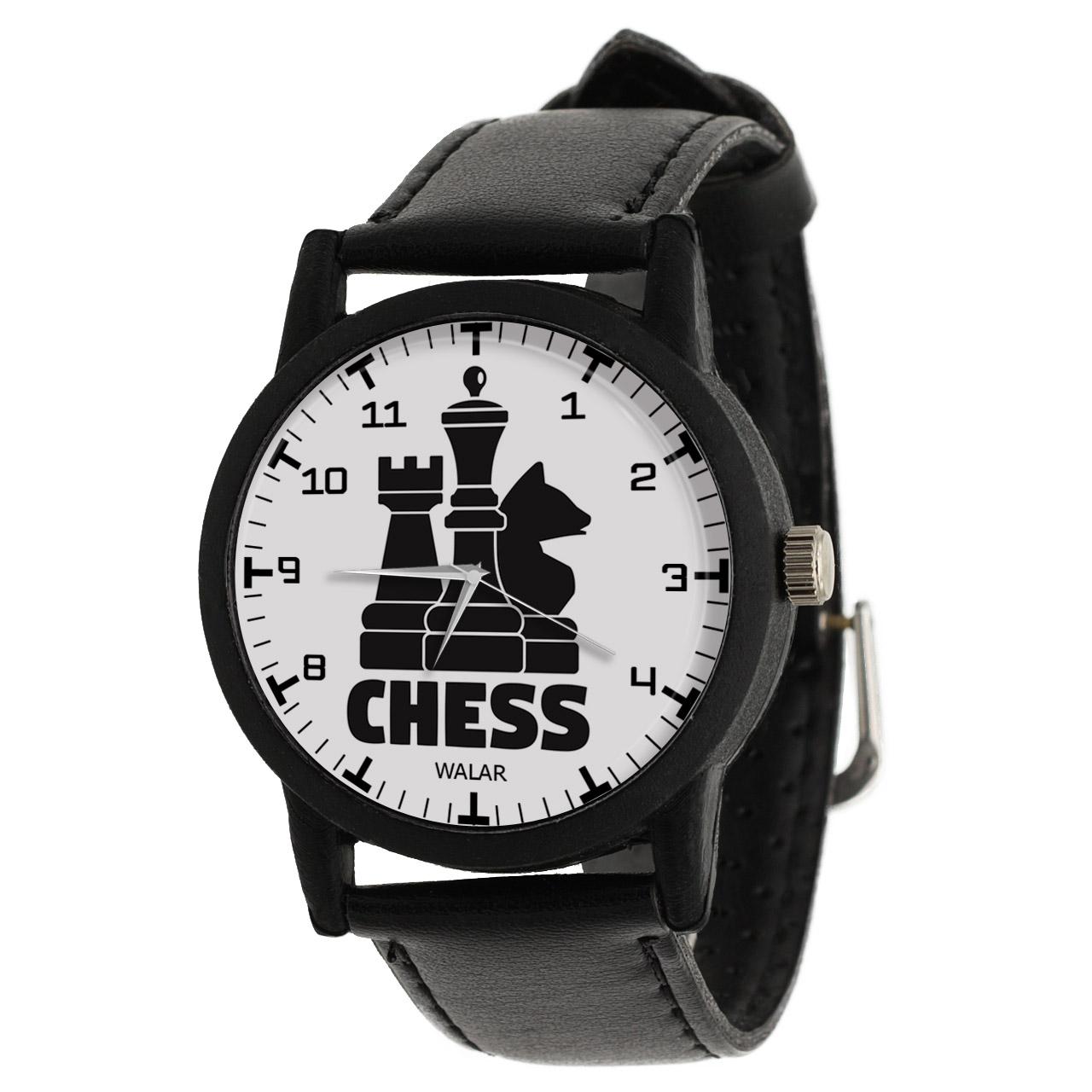 کد تخفیف                                      ساعت مچی عقربه ای والار طرح شطرنج کد LF2772