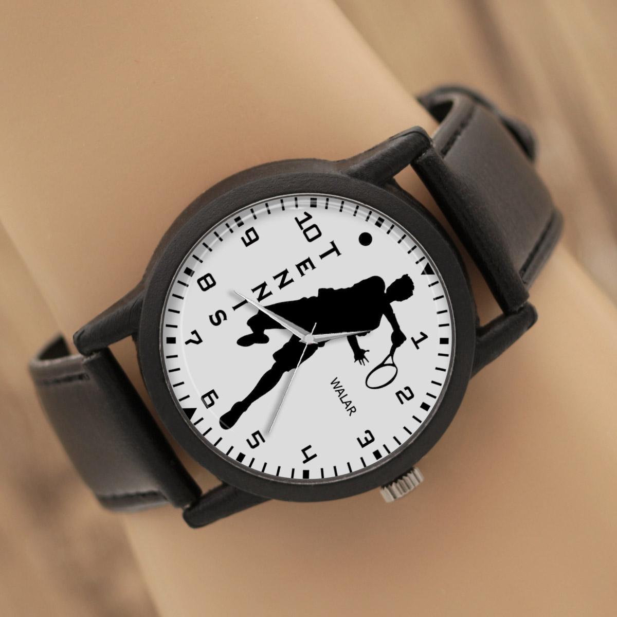 کد تخفیف                                      ساعت مچی عقربه ای مردانه والار طرح تنیس کد LF2778