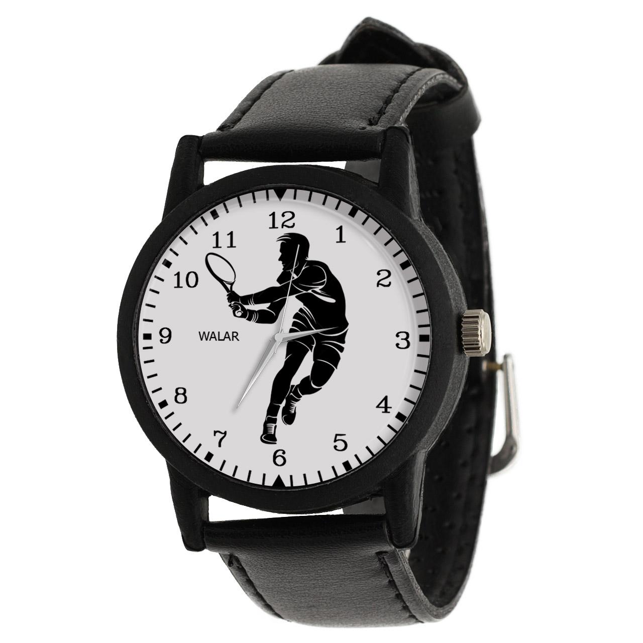 کد تخفیف                                      ساعت مچی عقربه ای مردانه والار طرح تنیس کد LF2779