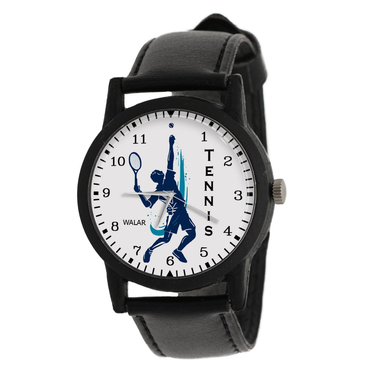 کد تخفیف                                      ساعت مچی عقربه ای مردانه والار طرح تنیس کد LF2780