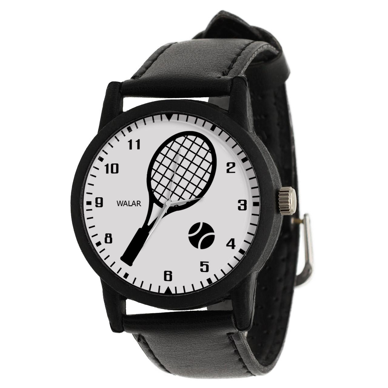 کد تخفیف                                      ساعت مچی عقربه ای والار طرح تنیس کد LF2782