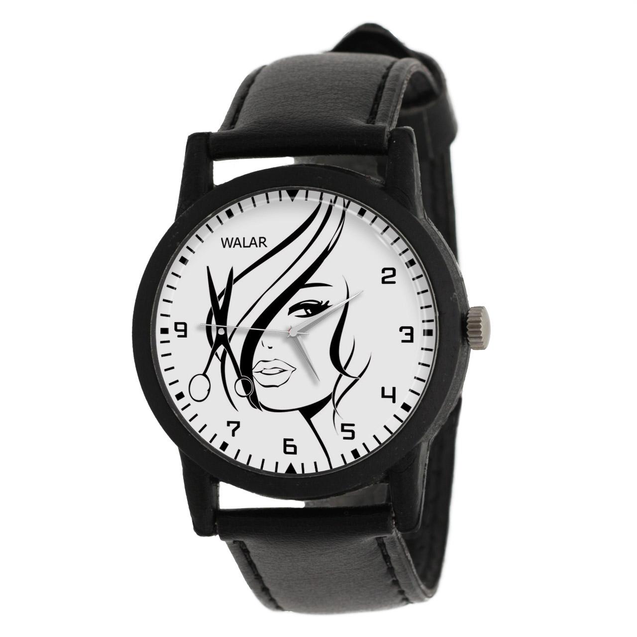 ساعت مچی عقربه ای زنانه والار طرح آرایشگری کد LF2796              ارزان