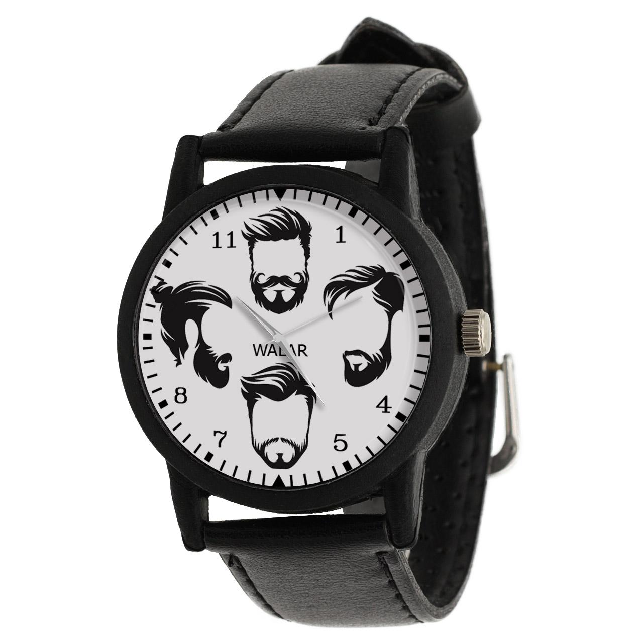 کد تخفیف                                      ساعت مچی عقربه ای مردانه والار طرح آرایشگر کد LF2798