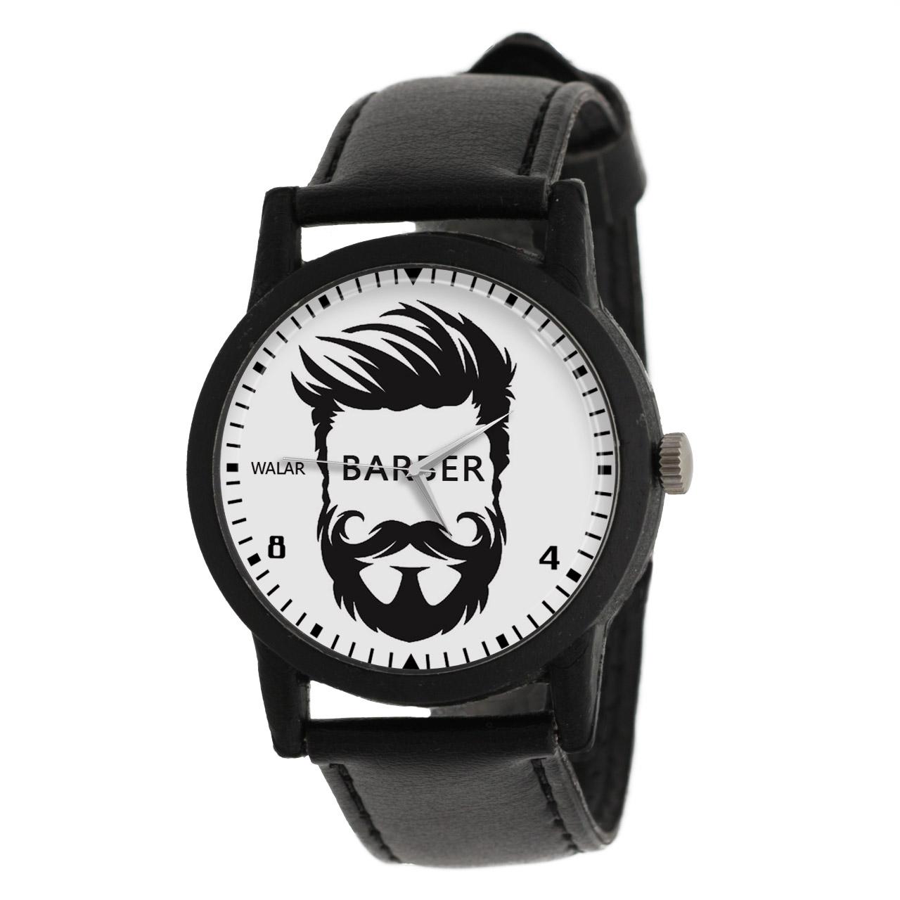 کد تخفیف                                      ساعت مچی عقربه ای مردانه والار طرح آرایشگر کد LF2799