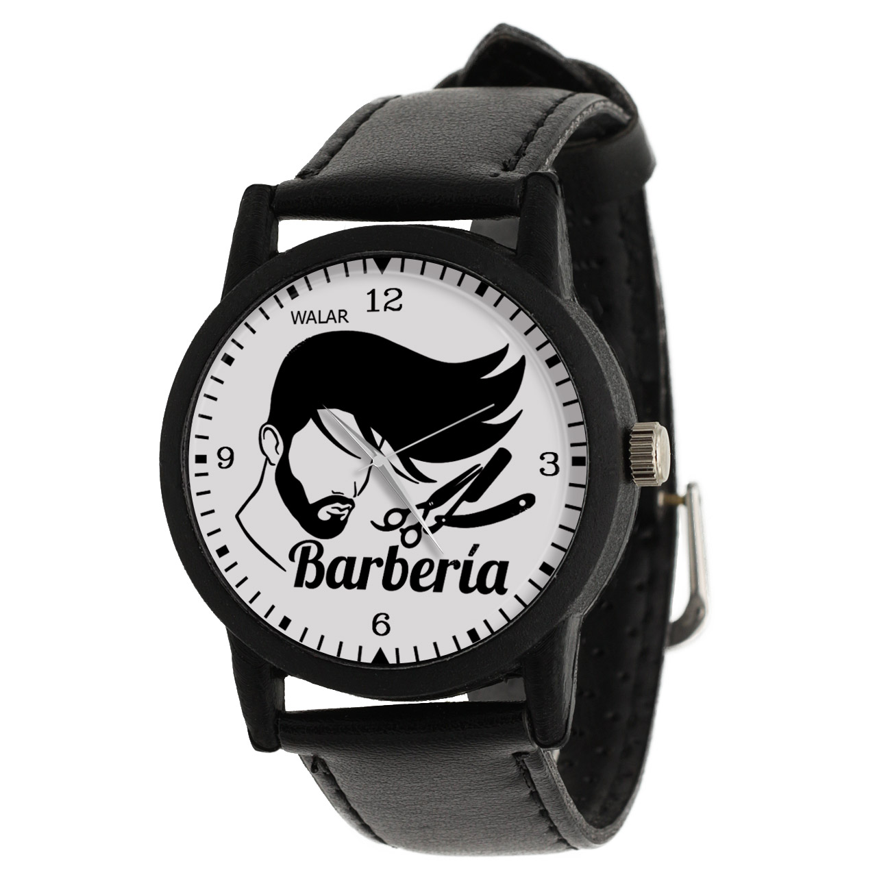 کد تخفیف                                      ساعت مچی عقربه ای مردانه والار طرح آرایشگر کد LF2800