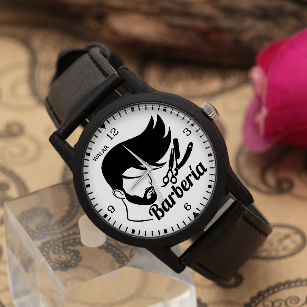 ساعت مردانه والار طرح آرایشگر کد LF2800