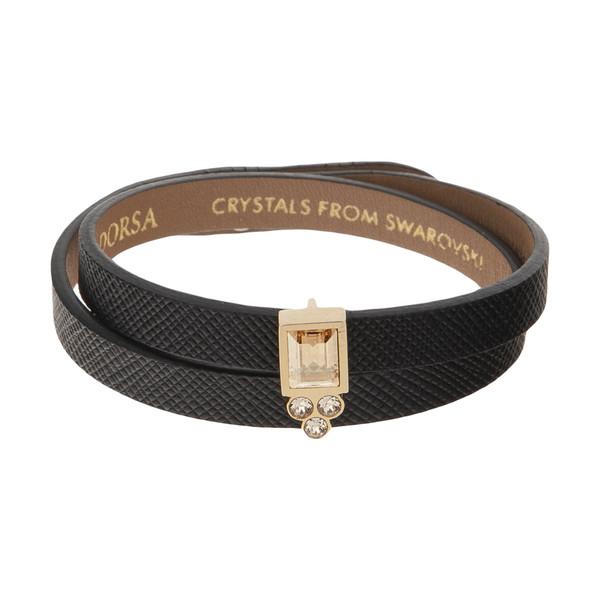 دستبند طلا 18 عیار زنانه درسا مدل 2742-1