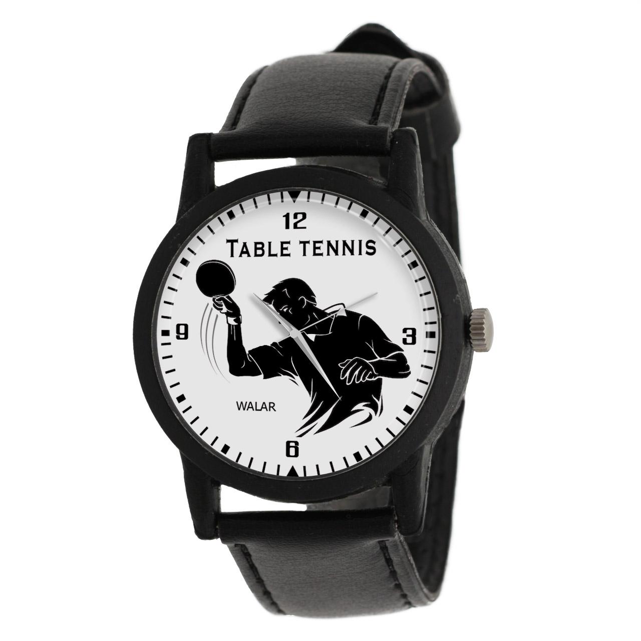 کد تخفیف                                      ساعت مچی عقربه ای مردانه والار طرح تنیس روی میز کد LF2812