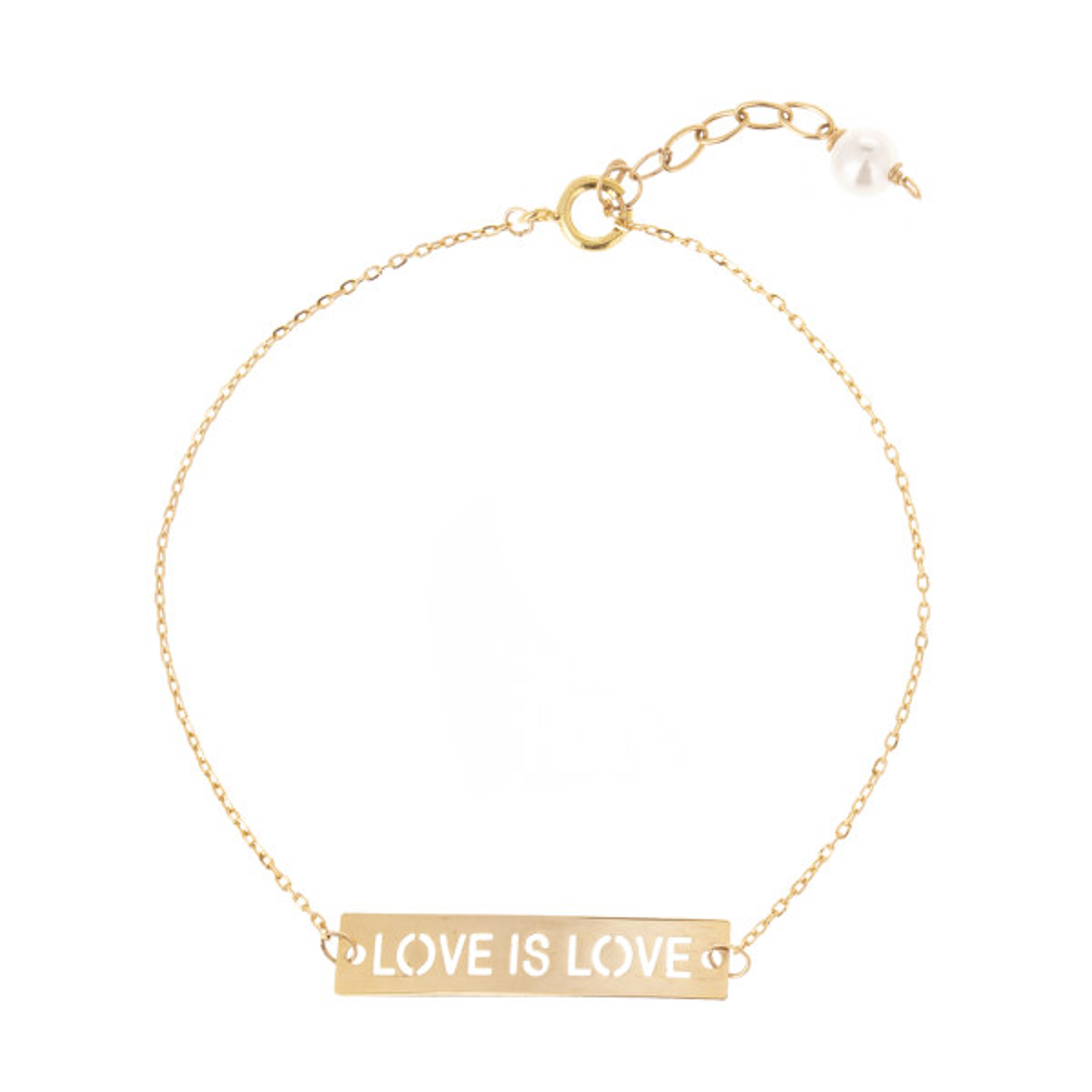 دستبند طلا 18 عیار زنانه نیوانی مدل DA701