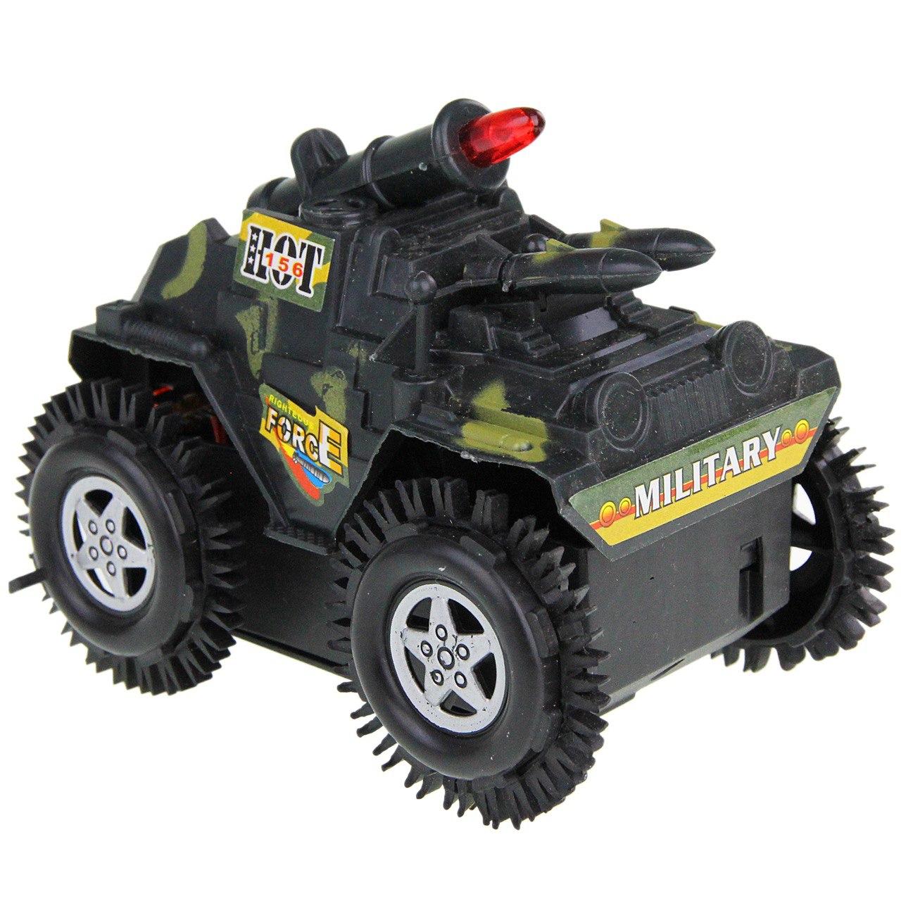 تانک اسباب بازی مدل tumbling tank کد 0313