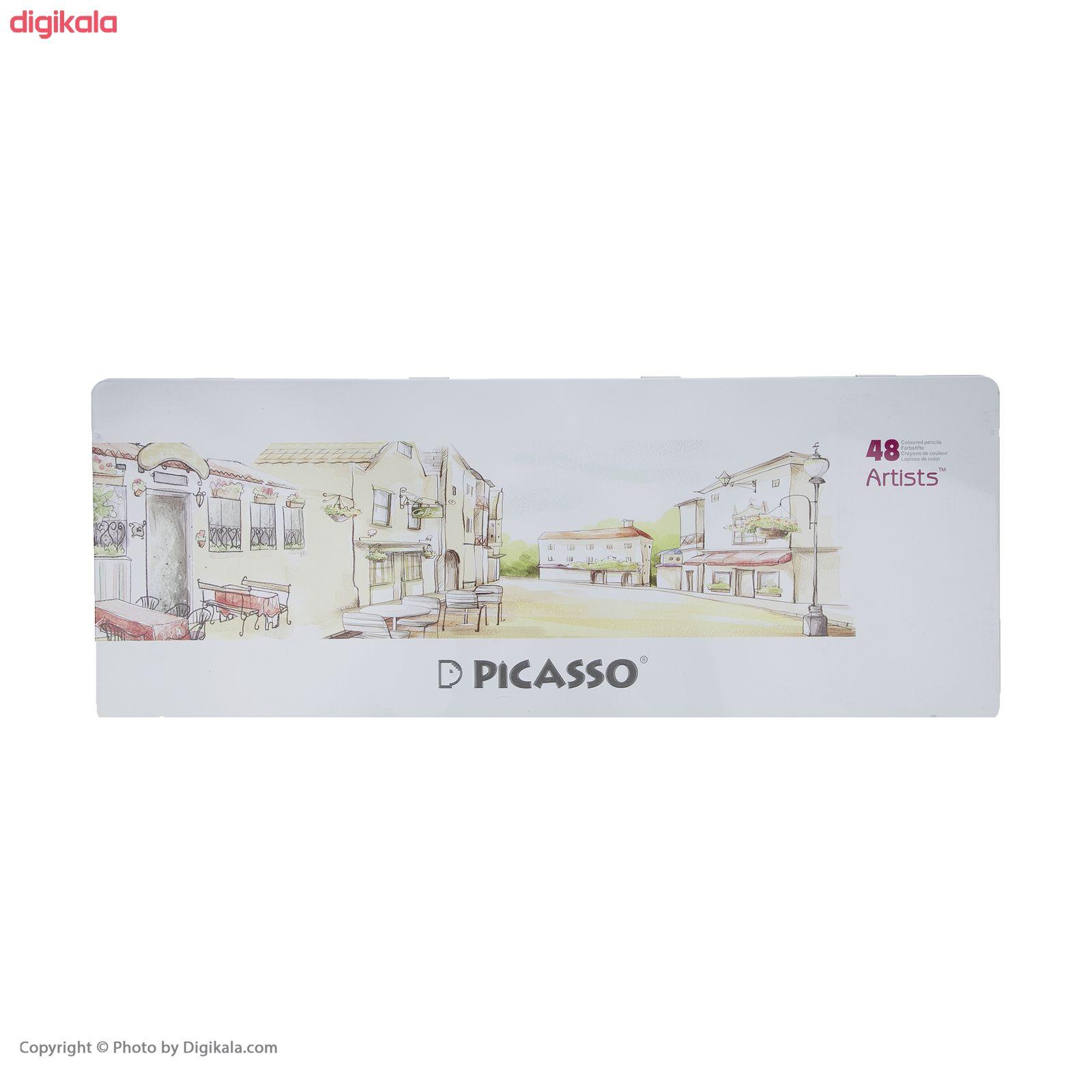 مداد رنگی 48 رنگ پیکاسو مدل Artists  main 1 5