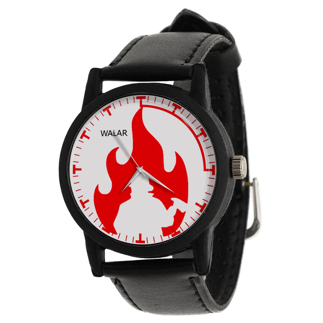 کد تخفیف                                      ساعت مچی عقربه ای مردانه والار طرح آتش نشان کد LF2821