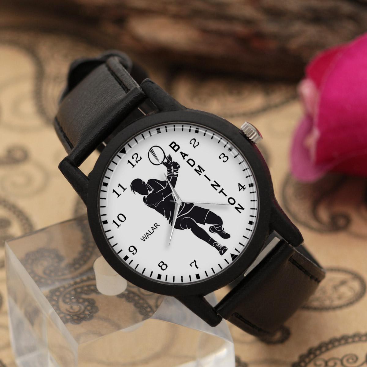 کد تخفیف                                      ساعت مچی عقربه ای مردانه والار طرح بدمینتون کد LF2823