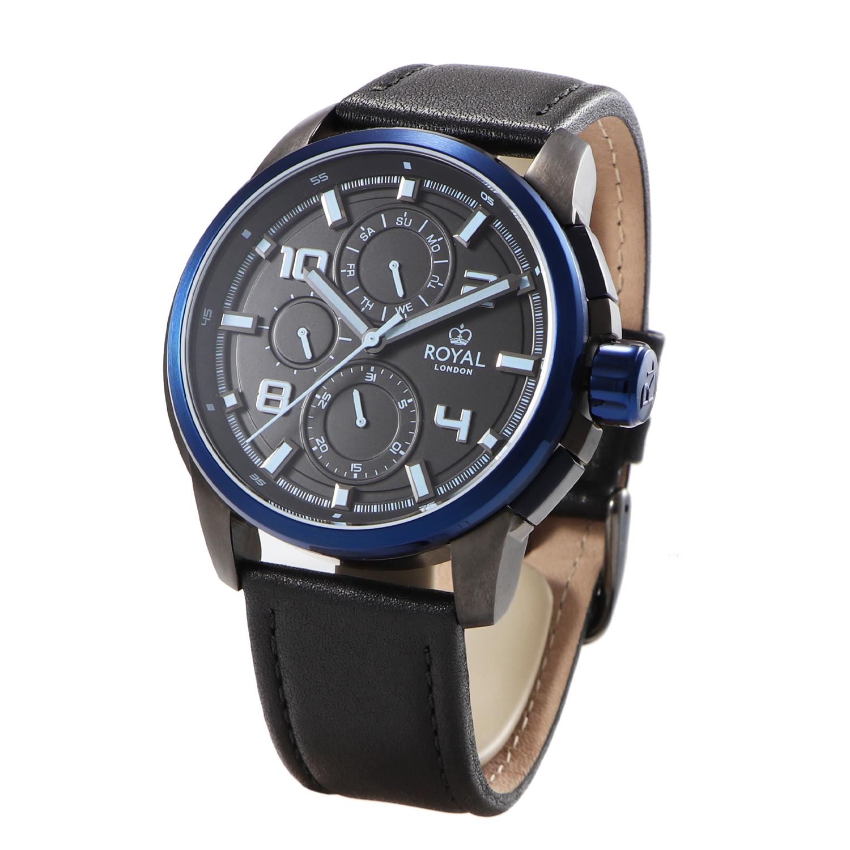 کد تخفیف                                      ساعت مچی عقربه ای مردانه رویال لندن مدل RL-41384-04