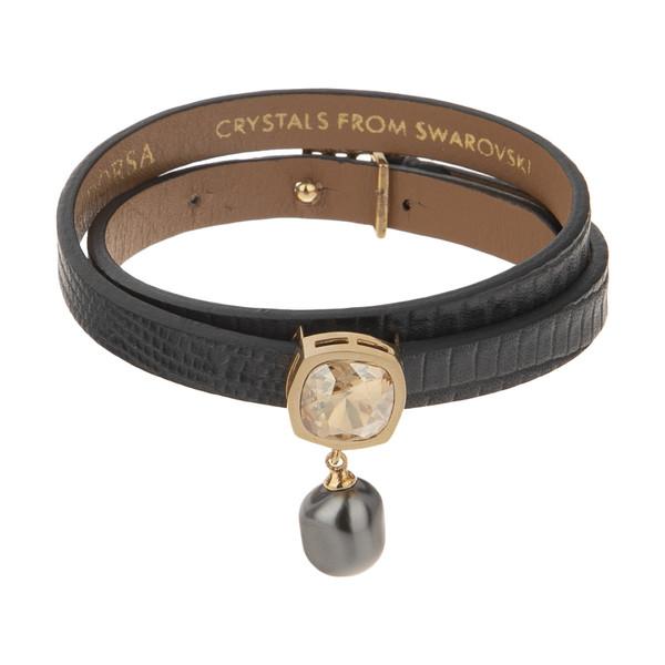 دستبند طلا 18 عیار زنانه درسا مدل 2747-2