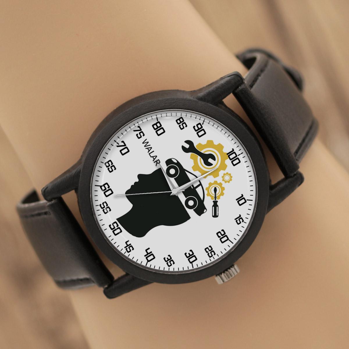 ساعت مردانه والار طرح مکانیک کد LF2833