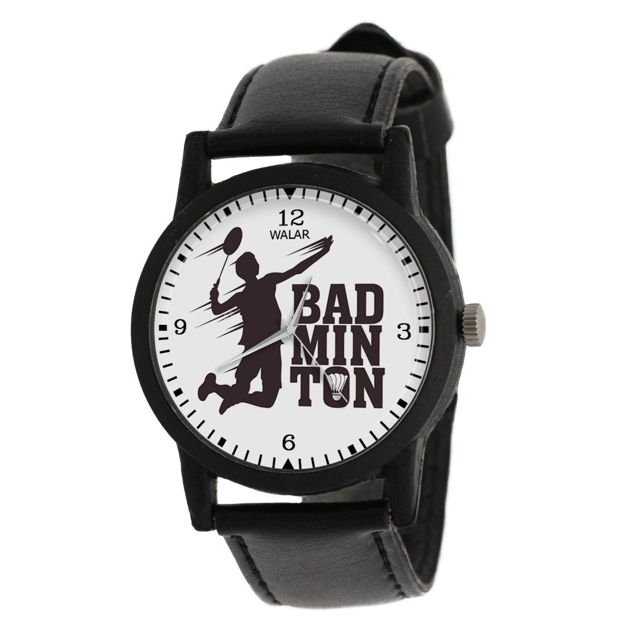 ساعت مچی عقربه ای والار طرح بدمینتون کد LF2834