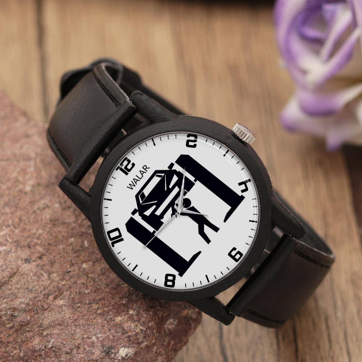 ساعت مچی عقربه ای مردانه والار طرح مکانیک کد LF2835              ارزان