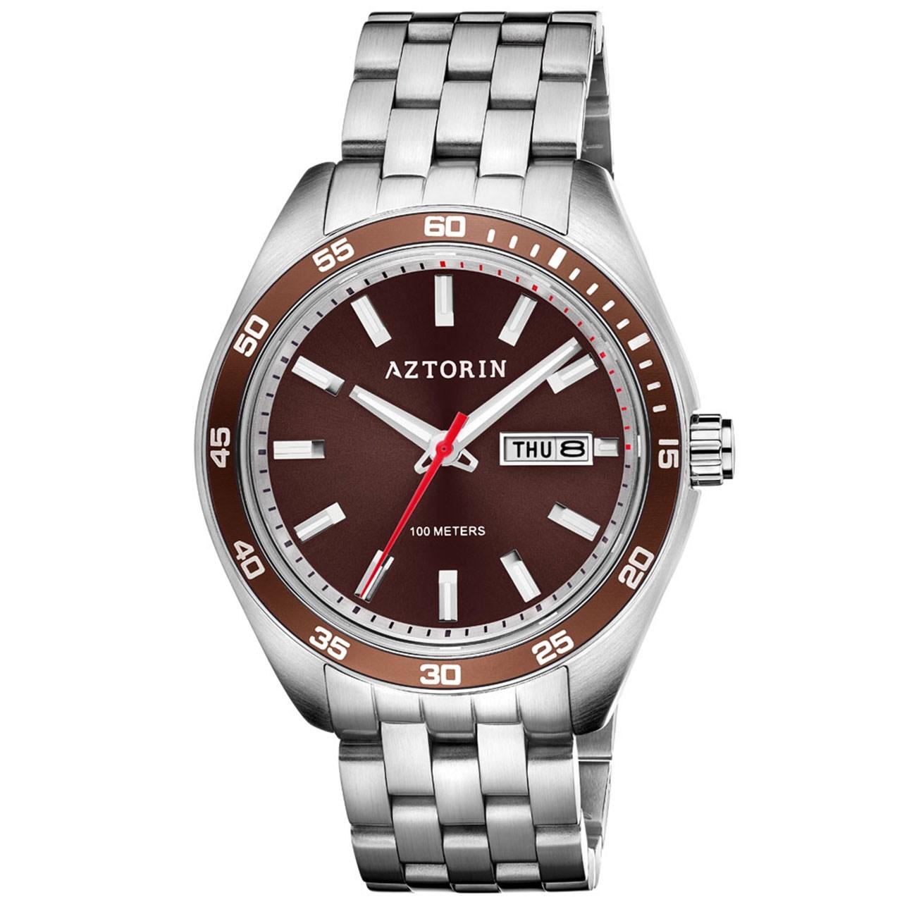ساعت مچی عقربه ای مردانه ازتورین مدل A062.G304