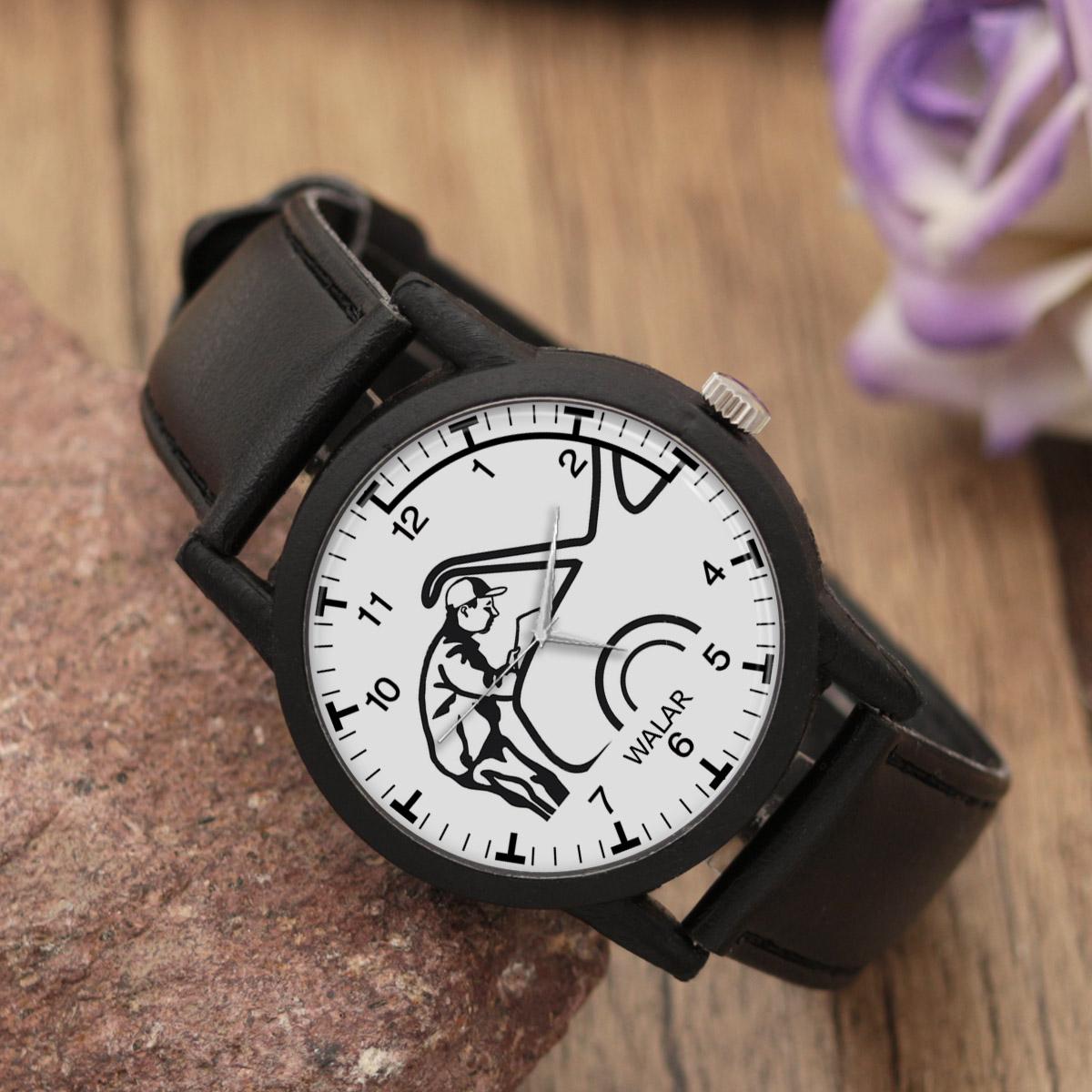 کد تخفیف                                      ساعت مچی عقربه ای مردانه والار طرح مکانیک کد LF2837