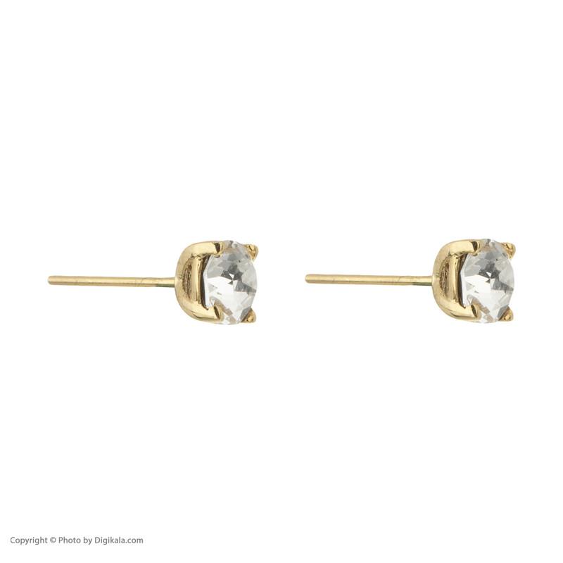 گوشواره طلا 18 عیار زنانه درسا مدل 2376-7