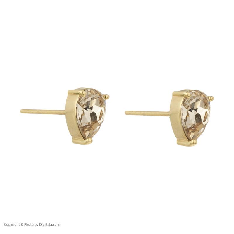 گوشواره طلا 18 عیار زنانه درسا مدل 2360-1