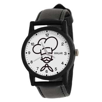 ساعت مچی عقربه ای مردانه والار طرح آشپز کد LF2847