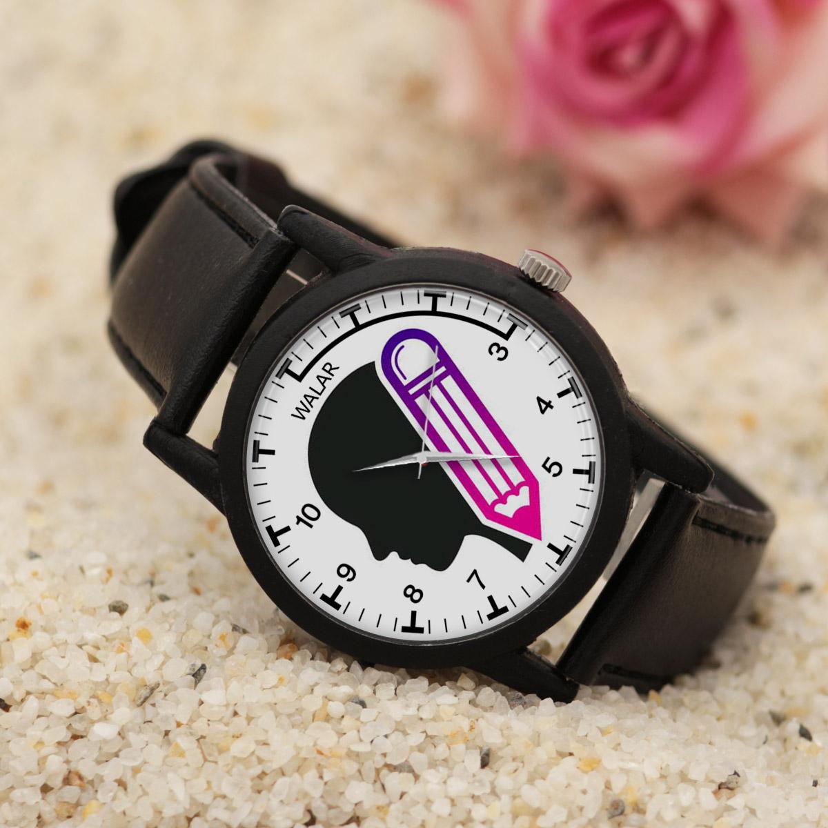 کد تخفیف                                      ساعت مچی عقربه ای مردانه والار طرح نویسنده کد LF2850