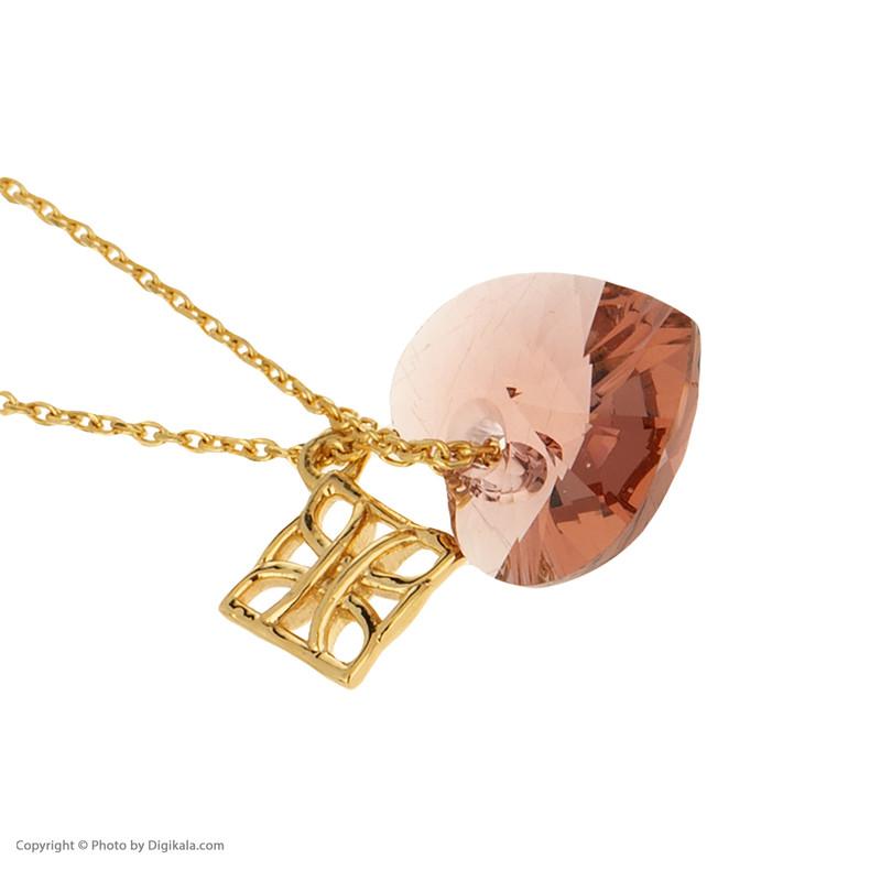 آویز ساعت طلا 18 عیار زنانه درسا مدل 2368-1