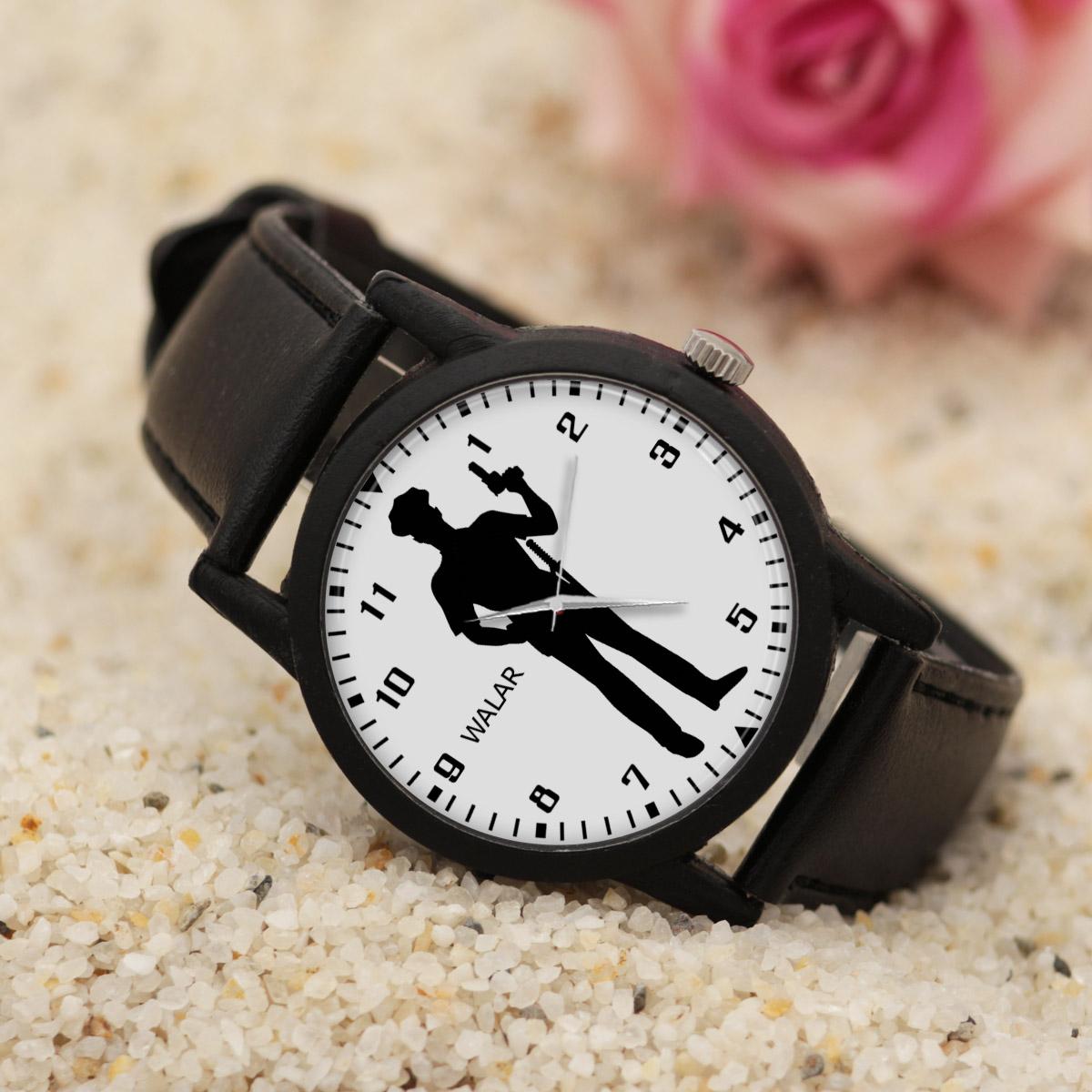 کد تخفیف                                      ساعت مچی عقربه ای مردانه والار طرح پلیس کد LF2857