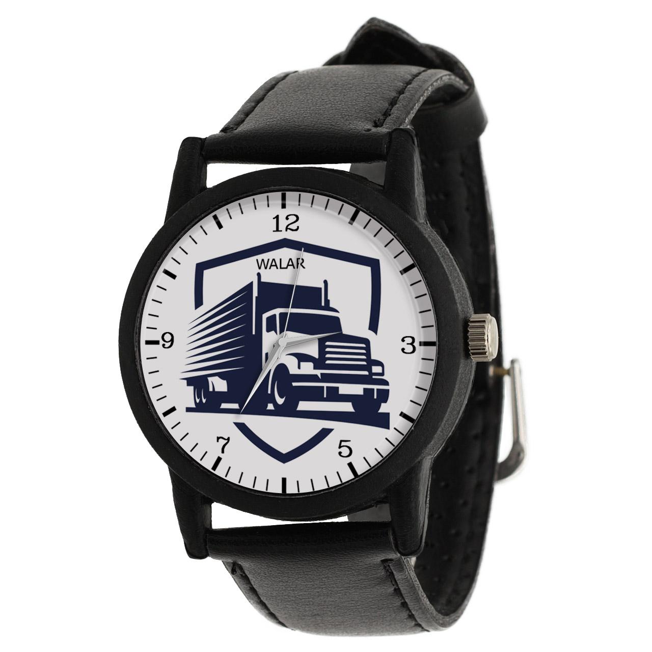 کد تخفیف                                      ساعت مچی عقربه ای مردانه والار طرح کامیون کد LF2858