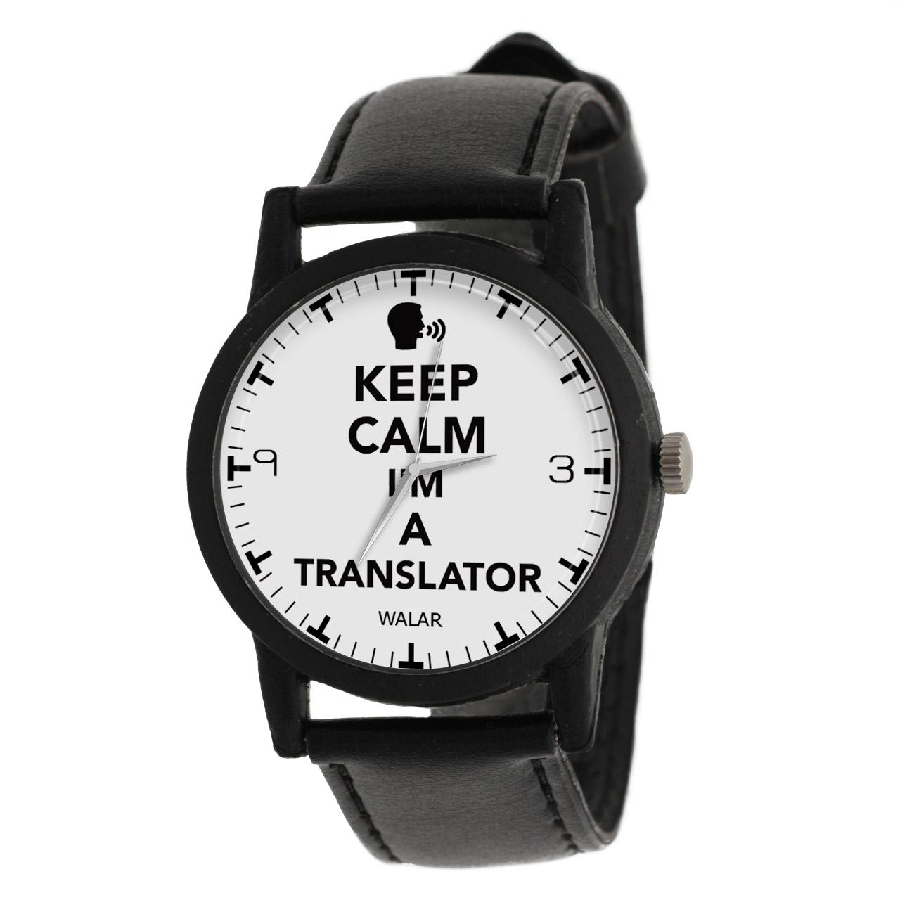 قیمت                      ساعت مچی عقربه ای والار طرح مترجم کد LF2861