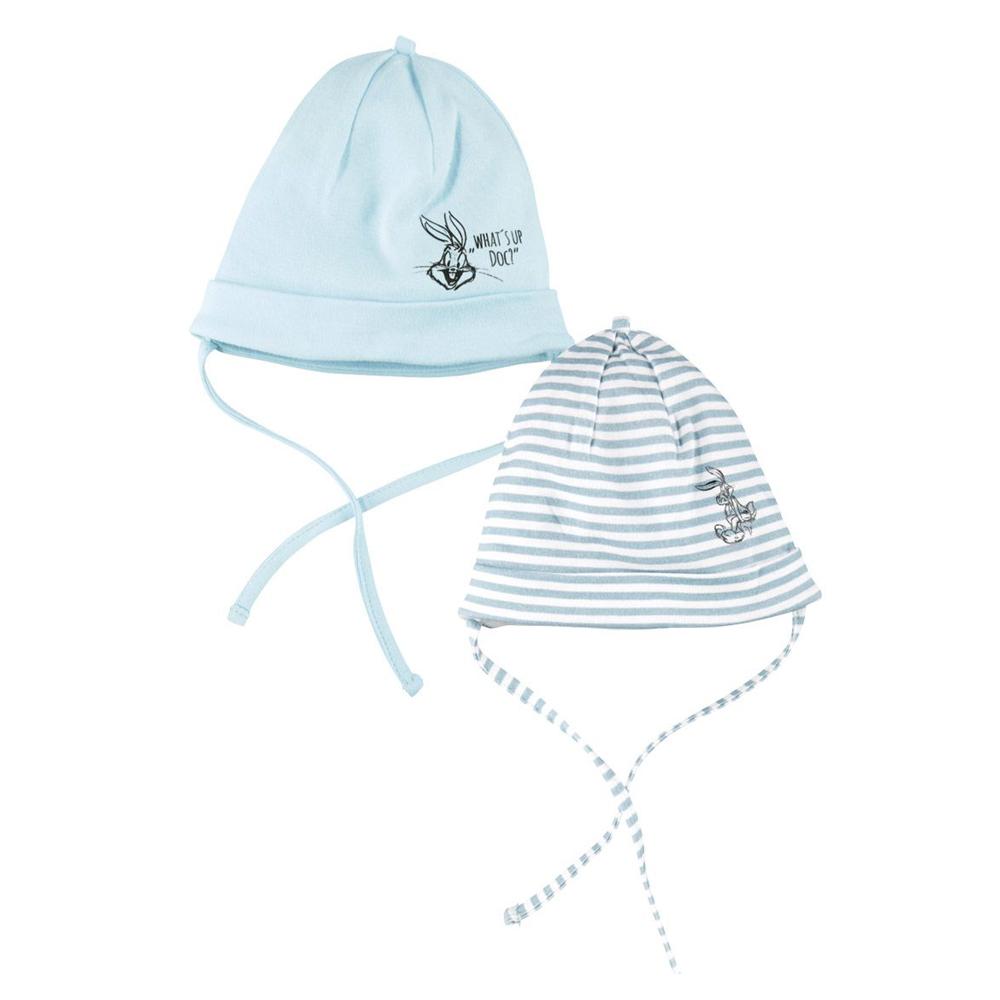 کلاه نوزاد لونی تونز مدل 7745 مجموعه 2 عددی