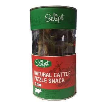 تشویقی سگ سویل پت مدل Natural Cattle Pizzle Snack وزن 150 گرم