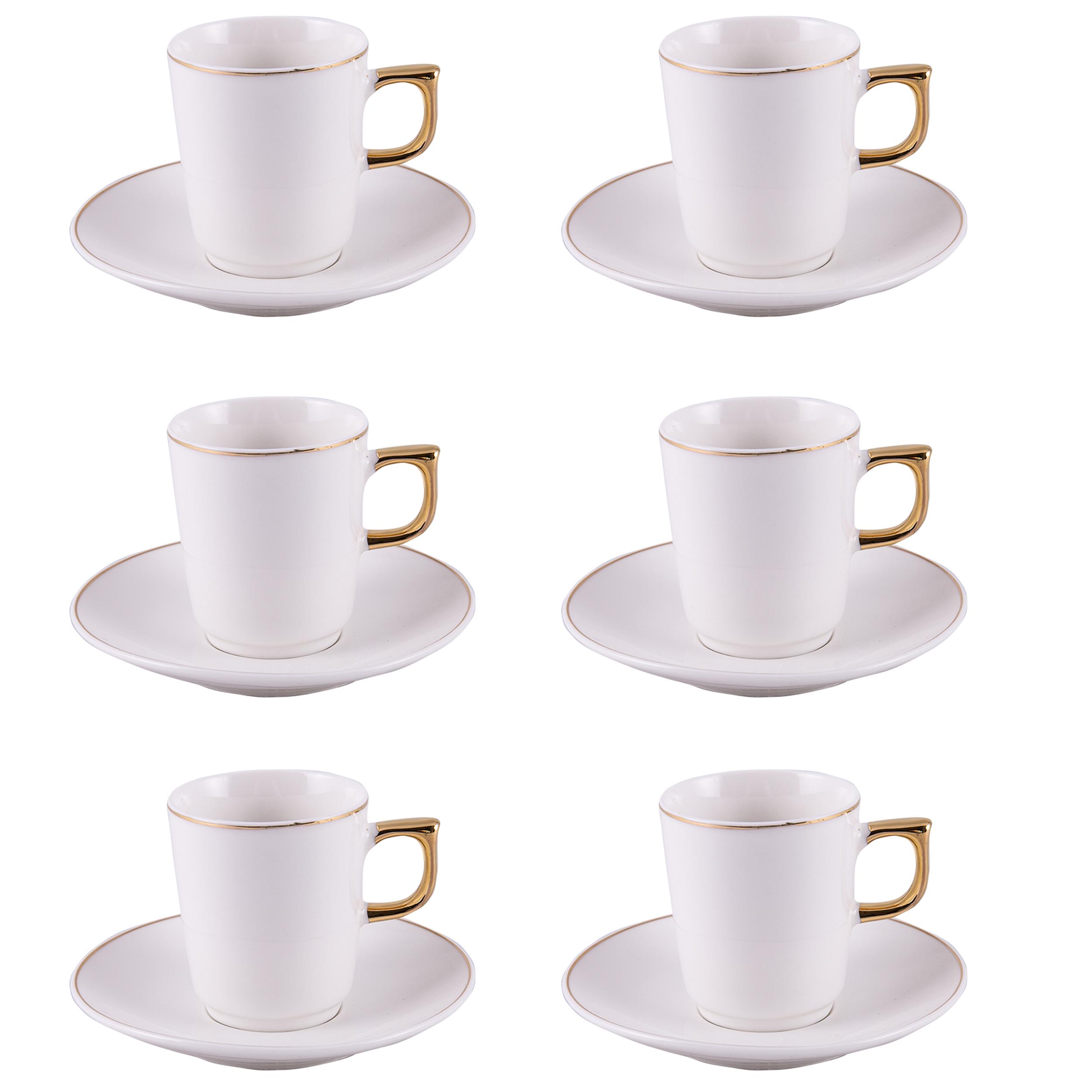 سرویس قهوه خوری 12 پارچه کاراجا مدل WINSTON