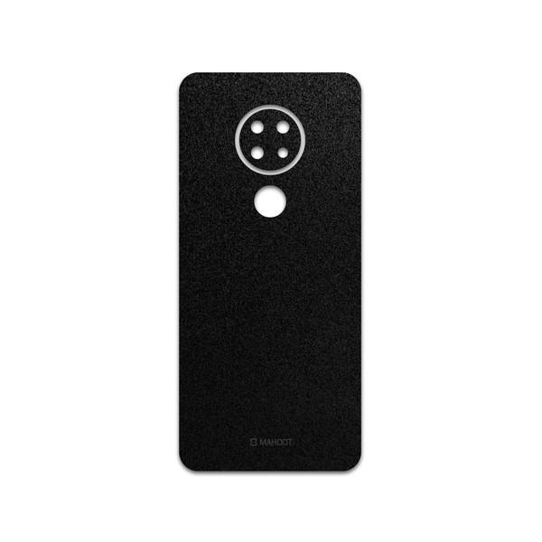 برچسب پوششی ماهوت مدل Black-Suede مناسب برای گوشی موبایل نوکیا 6.2