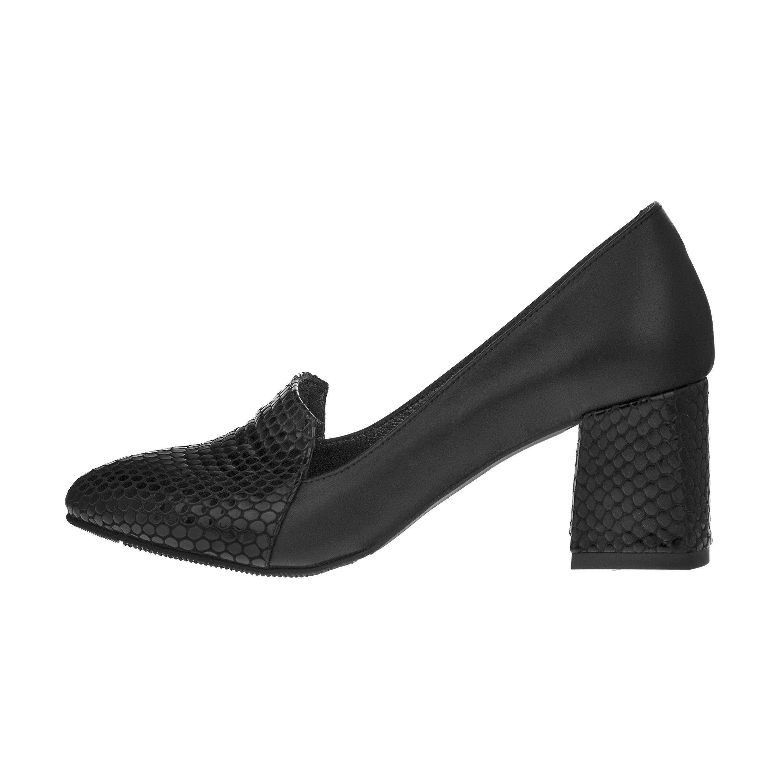 خرید                      کفش  زنانه چرم یاس مدل النا