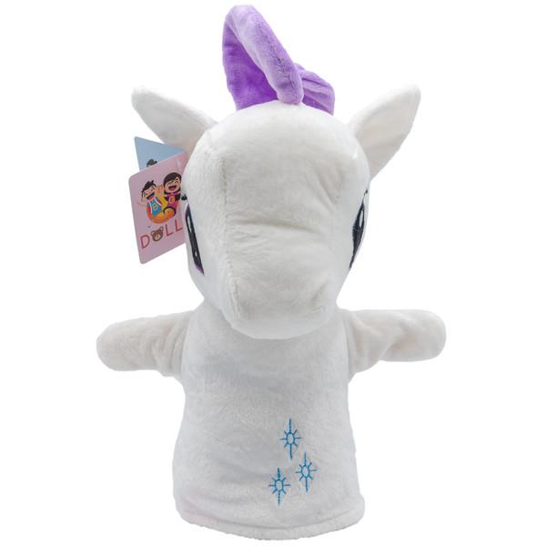 عروسک نمایشی بی جی دالز طرح اسب شاخدار کد BT11457w