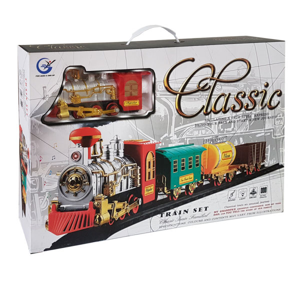 قطار اسباب بازی مدل کلاسیک کد 3-803