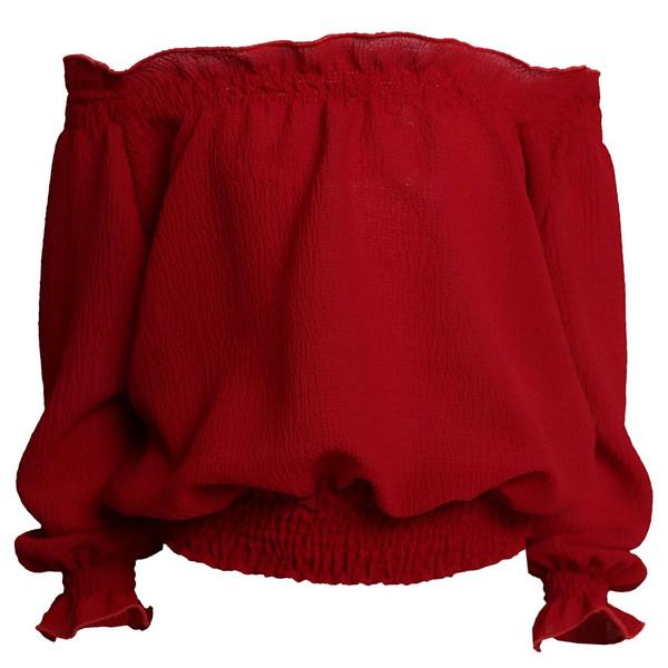 بلوز دخترانه کد 445 رنگ قرمز