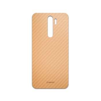 برچسب پوششی ماهوت مدل Titanium-Fiber مناسب برای گوشی موبایل شیائومی Redmi Note 8 Pro