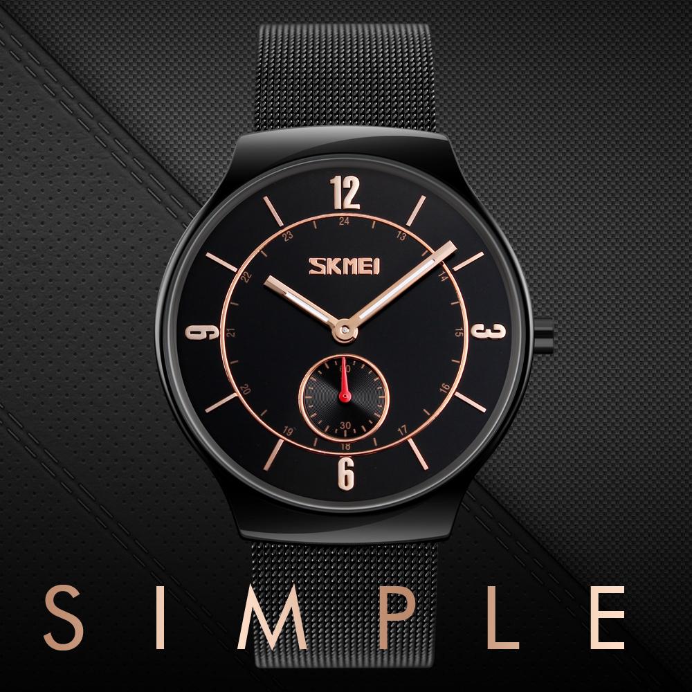 کد تخفیف                                      ساعت مچی عقربه ای مردانه اسکمی مدل 9163 کد 01