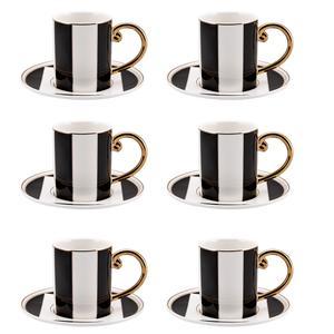 سرویس قهوه خوری 12 پارچه کاراجا مدل TETRAGON
