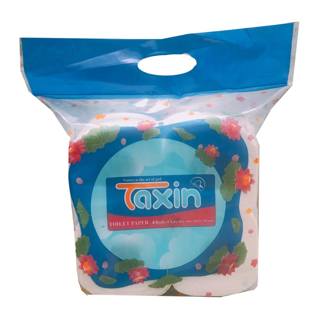 دستمال توالت تکسین مدل TXD4 بسته 4 عددی