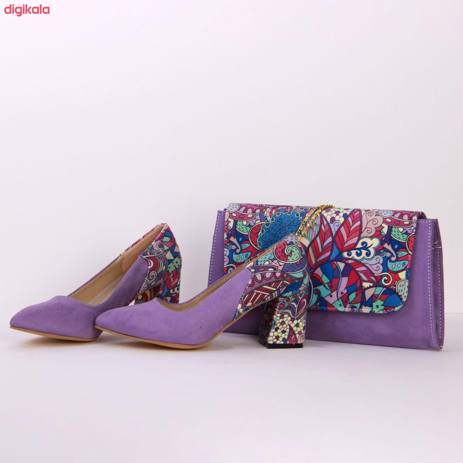 ست کیف و کفش زنانه کد 203 main 1 3