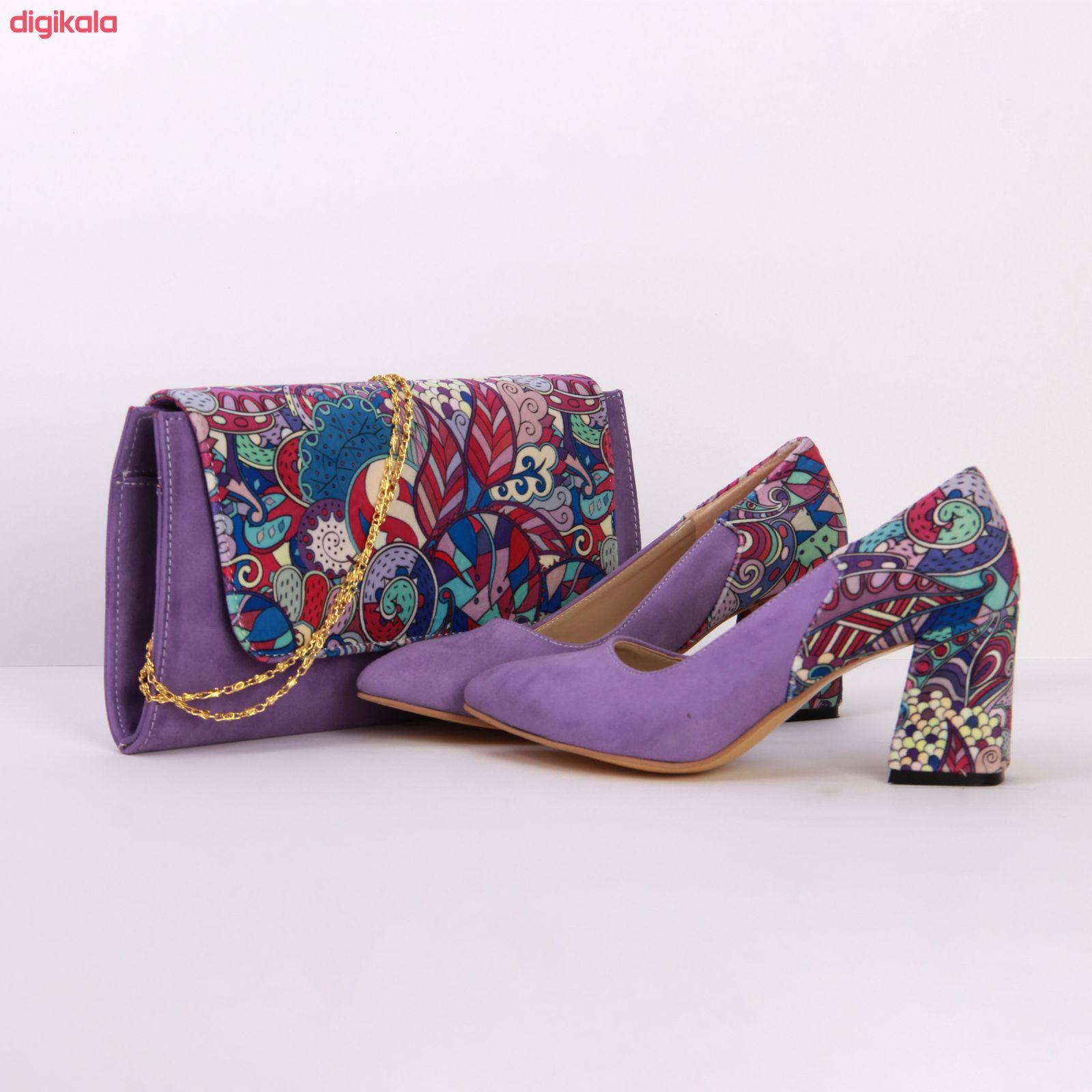 ست کیف و کفش زنانه کد 203 main 1 4