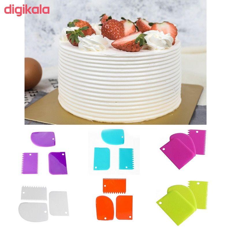 ابزار تزیین کیک مدل Mhr-350 مجموعه 6 عددی main 1 2