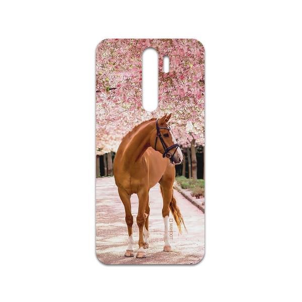 برچسب پوششی ماهوت مدل Horse-1 مناسب برای گوشی موبایل شیائومی Redmi Note 8 Pro